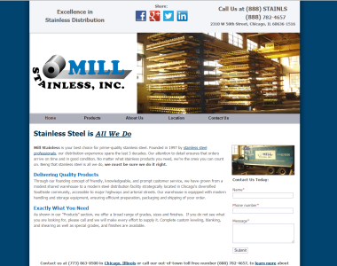 Mill Stainless